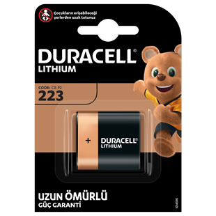 DURACELL CRP 2 (223) LITHIUM 6V PİL